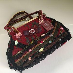 Bags - Nwt Victorian style handmade handbag